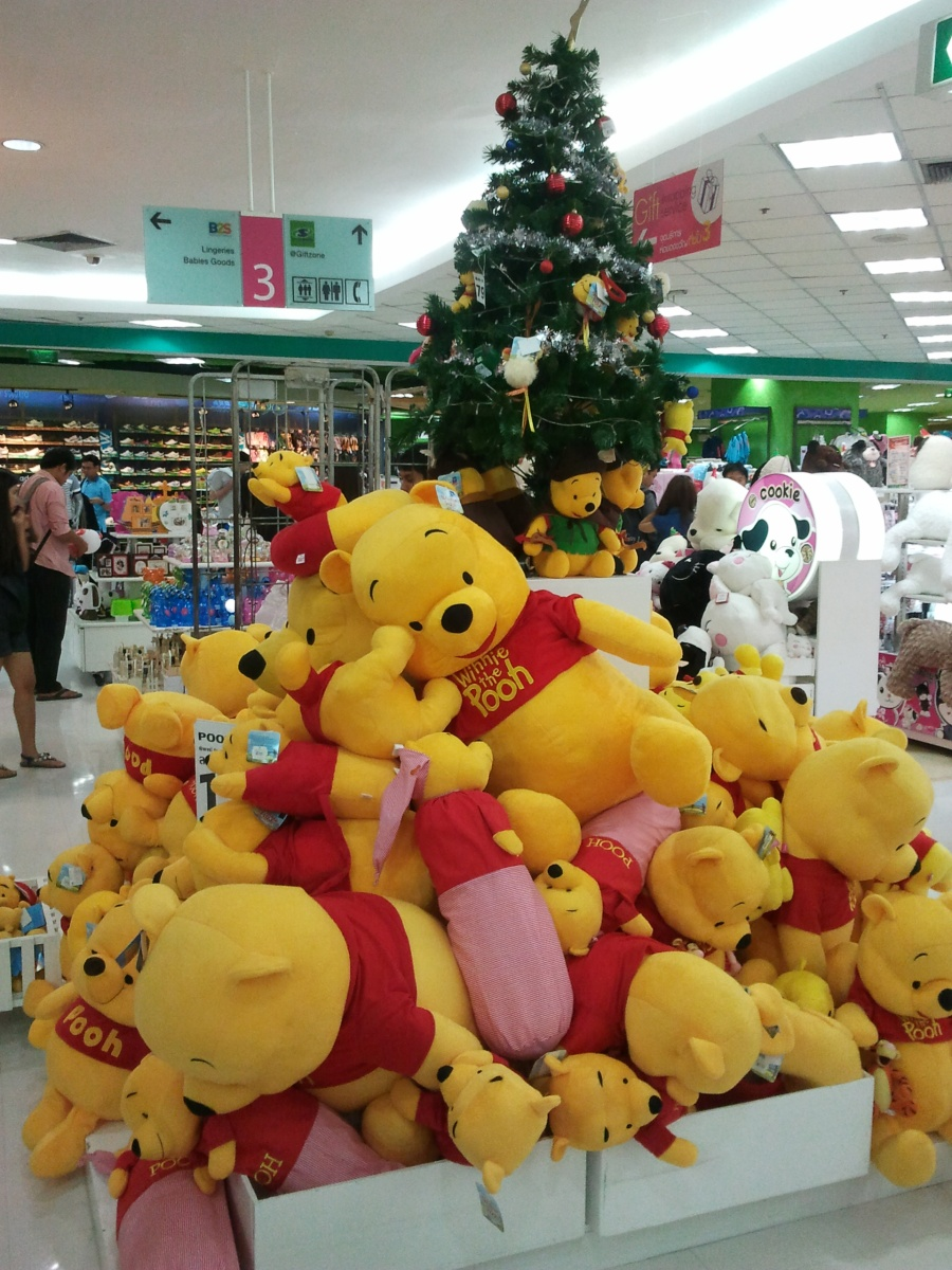 Monday Madness - Pooh is everywhere in Bangkok