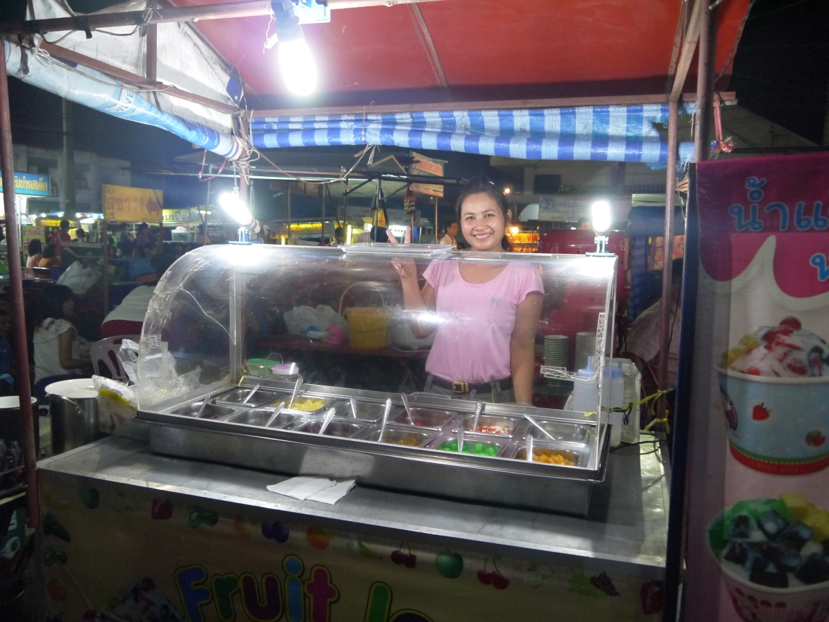 Food Friday -  Thai shaved Ice dessert (Nam Kang Sai)