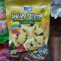 Monday Madness - Angry Birds Fish Cakes