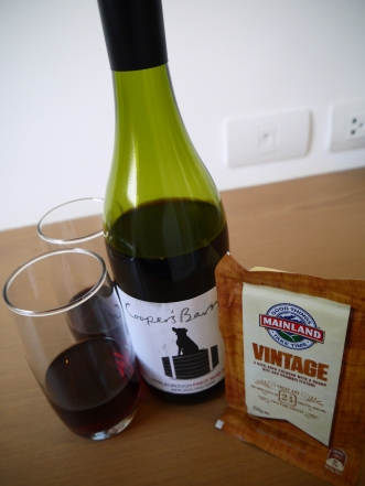 New Zealand Wine and Cheese