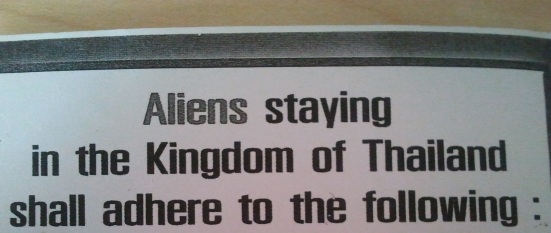 Alien immigration rules