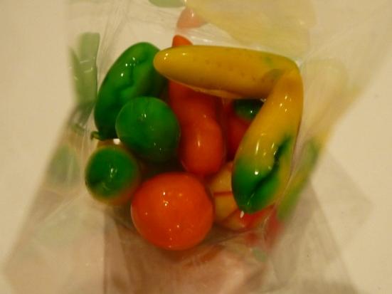 Mungbean fruit candy