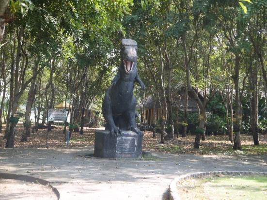 Dinosaur statue Khon Kaen