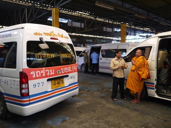 Monk Minivan Bangkok
