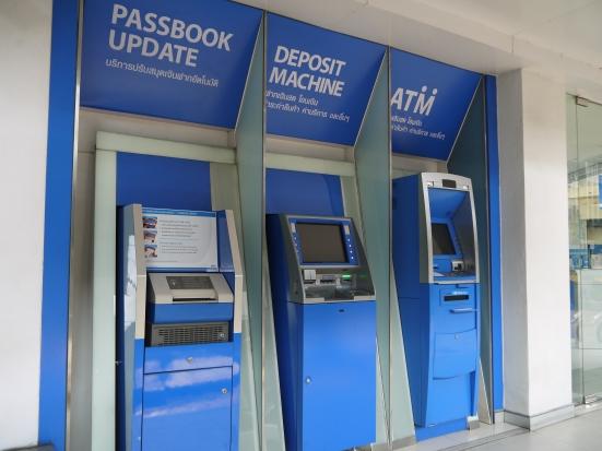 The bank machine combo