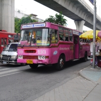Exploring Bangkok by city bus