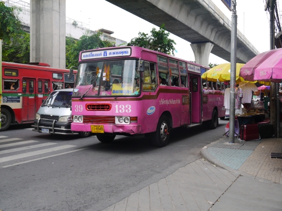 Fan Bus in Bangkok