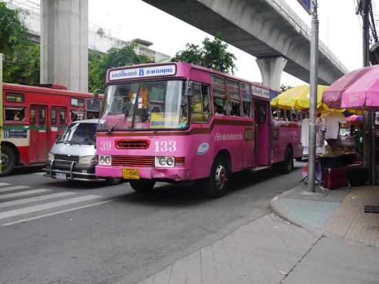 Fan Bus in Bangkok