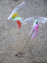 Handmade lollipops in Bangsaen