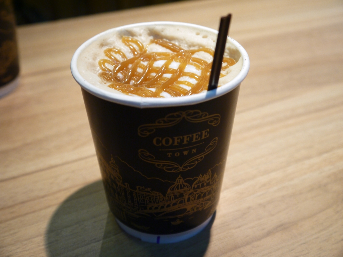 Finding the perfect coffee at Don Mueang