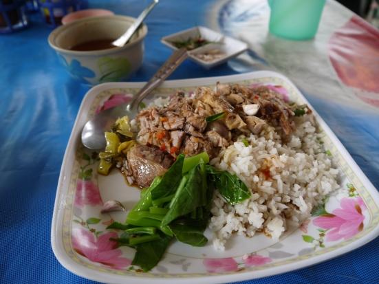 Delicious Khao Kha Moo in On Nut, Bangkok